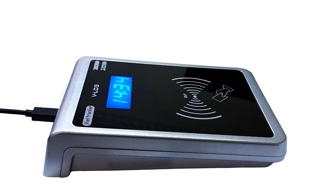 Máy chấm công thẻ từ -  Wifi trực tuyến V-Logger