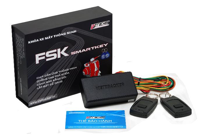 Khóa Smartkey chống cướp - chống trộm xe máy FSK 200