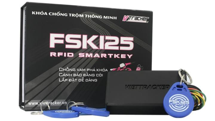 Khóa chống trộm xe máy thông minh FSK125
